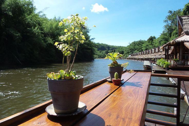 The FloatHouse River Kwai Resort, River Kwai, Thailand (dag 4 tot en met 7)