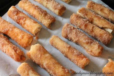 Cinnamon Cream Cheese Roll-Ups-ok so I shouldn't pin this as we have been so good losing weight but maybe someday I can have one!!!