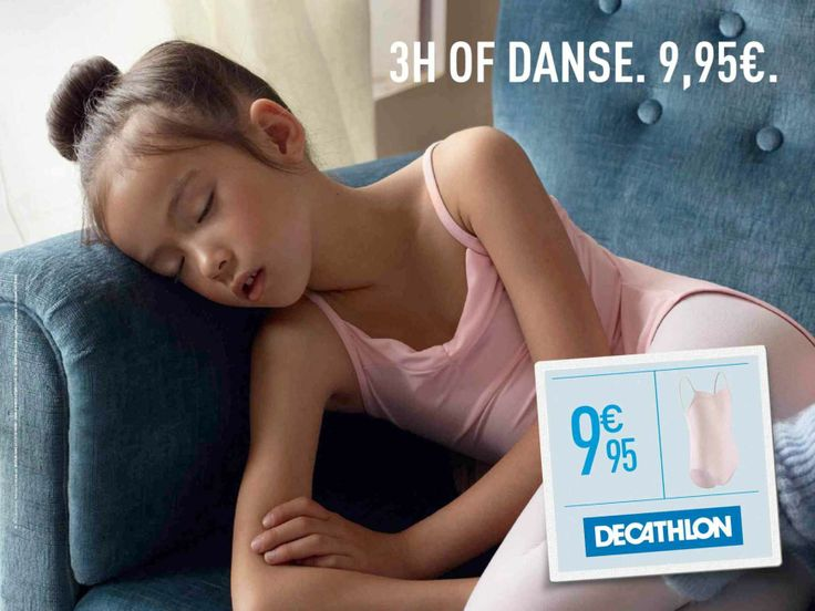 Decathlon France: Tired, 1