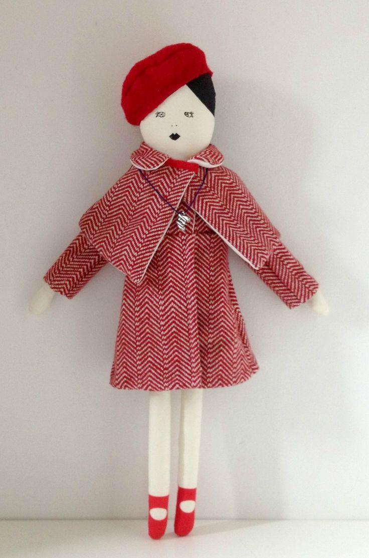Suzy Bishop doll coat, mikodesign, moonrisekingdom