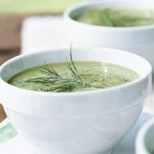 Cucumber Soup | MyRecipes.com  #MyPlate #vegetable