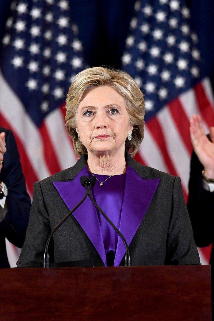 Das war Hillary Clintons inspirierende Botschaft nach Trumps Sieg der US Wahlen