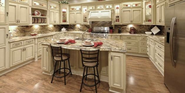 Kitchen Cabinets Vintage completely in love with this kitchen!! vintage white rta cabinets