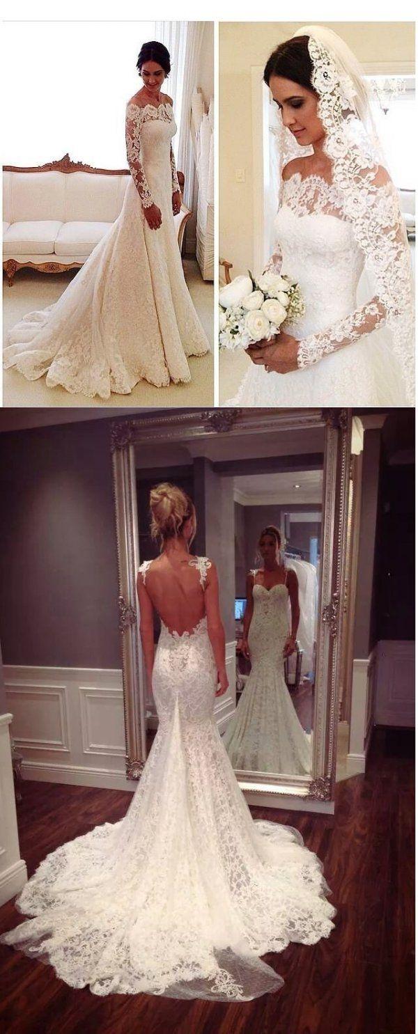 Koronkowe suknie ślubne - cudne!♥♥♥