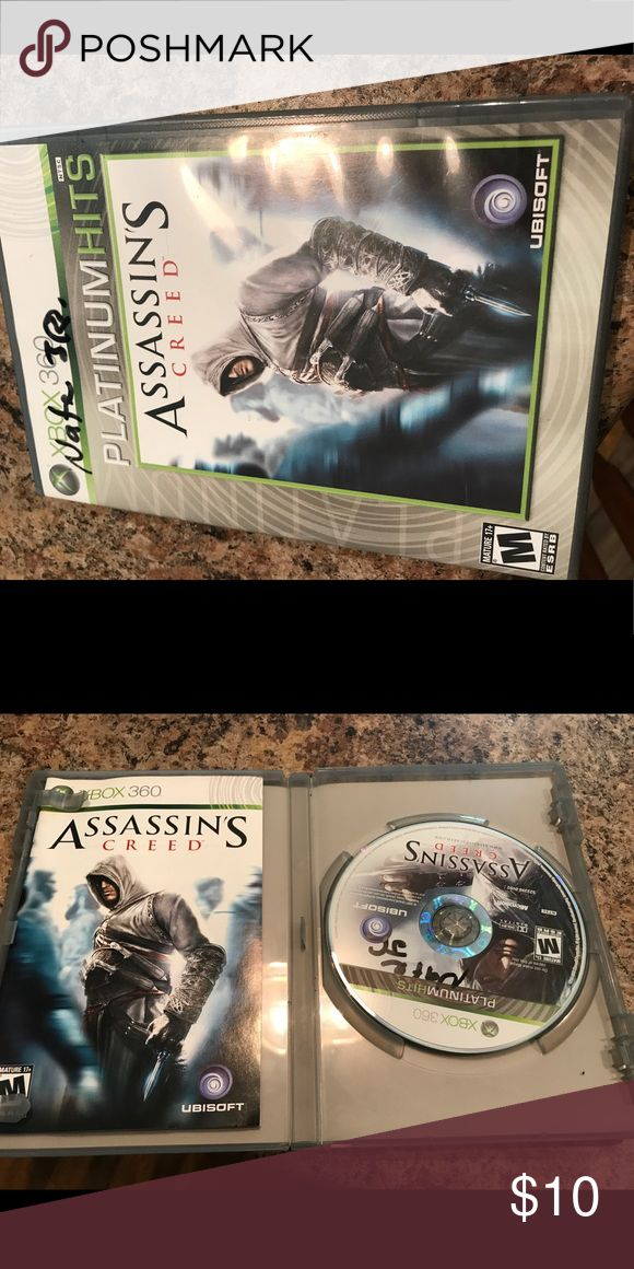 Xbox 360 game Assassin's Creed platinum version. Xbox 360 game. Case and disc are in perfect condition. Other