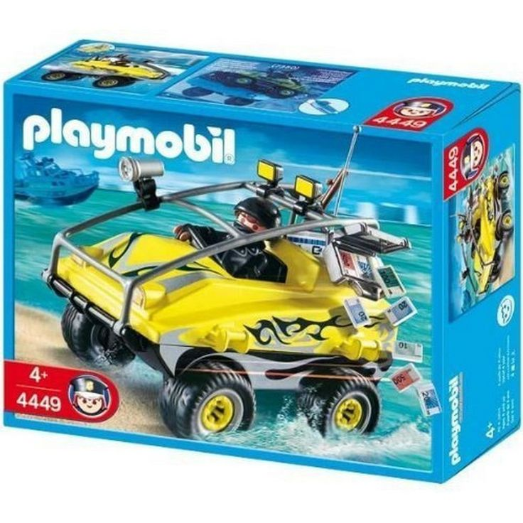 Playmobil Robber's Amphibious Vehicle [4449]