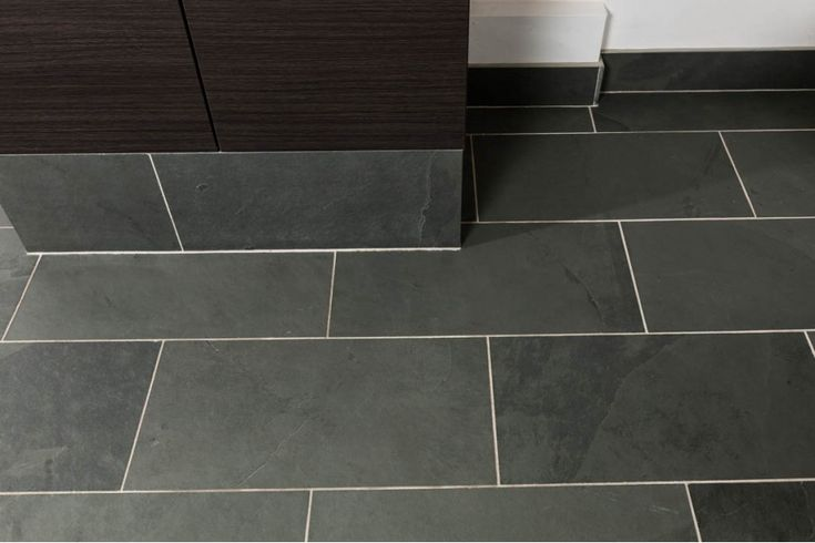 Grey slate tiles for bathroom