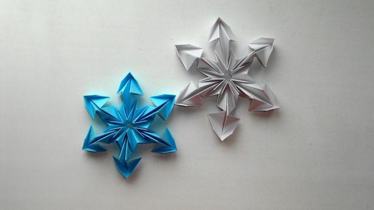 Снежинка из бумаги - неотъемлемый элемент новогоднего декора! Чтобы сделать снежинки из бумаги - потребуется немного времени и фантазии. Для создания бумажных снежинок мы используем технику модульного оригами. Бумага размером 88 см. в количестве 6 штук, из которой мы сделаем 6 одинаковых модулей. Бумажная снежинка будет интересна для создания с детьми на Новый год, такой поделкой можно украсить новогоднюю елку или сделать из нескольких элементов - гирлянду…