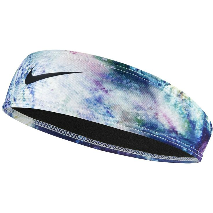"Nike 2"" Modern Graphic Headband Deep Royal & Black SU14"