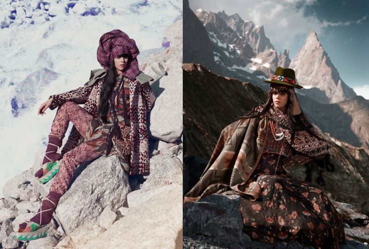 ARCTIC DELIGHT by halewijn BULCKAEN: Norbert Schoerner for Harper´s Bazaar UK
