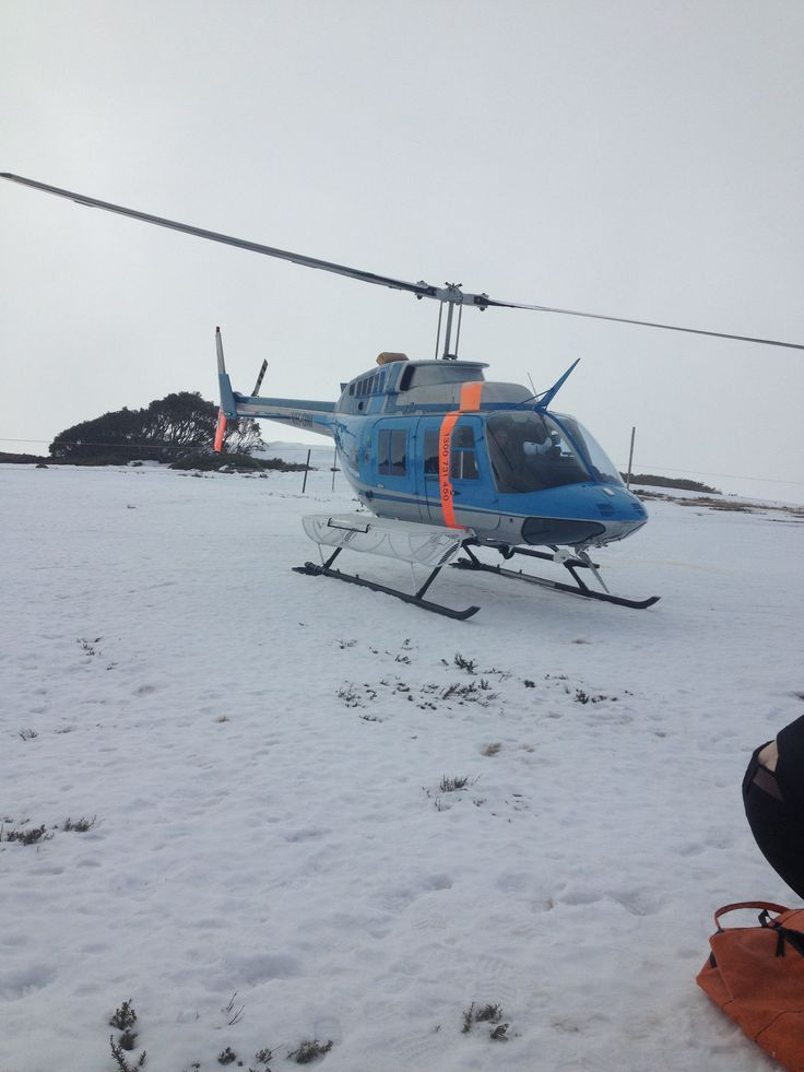 Helicopter to Falls Creek