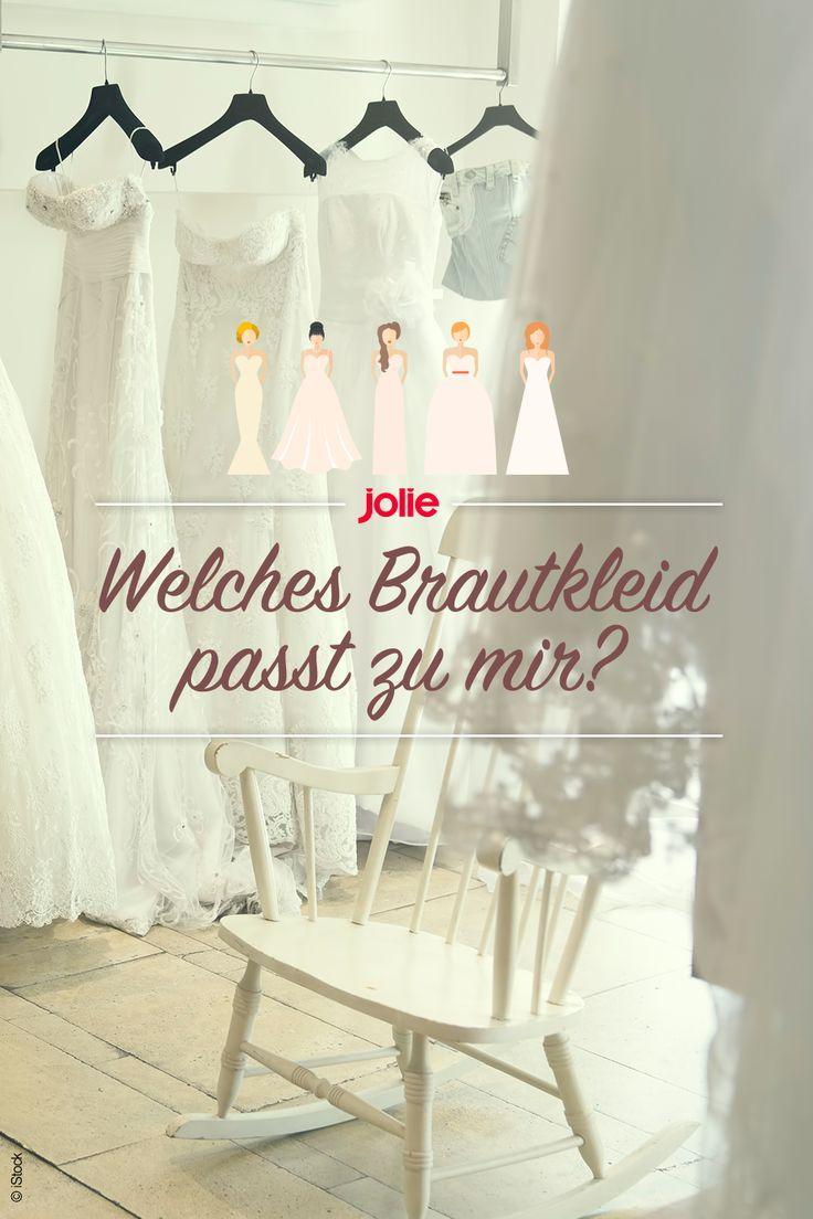 Klassische A-Linie oder Meerjungfrau? Unser Test verrät dir, welches Brautkleid zu dir passt!