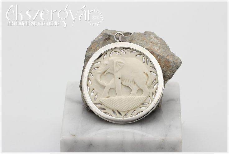 Faragott csonthoz ezüst keret készítése.
