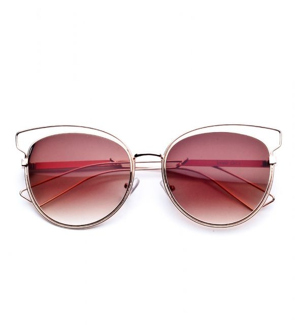 Okulary przeciwsłoneczne kocie oczy Brylove Saint Tropez Cat Eye