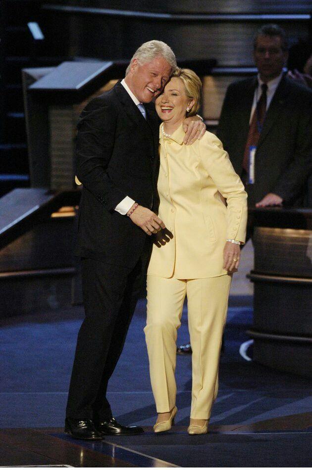 President Bill Clinton & First Lady Hillary Clinton