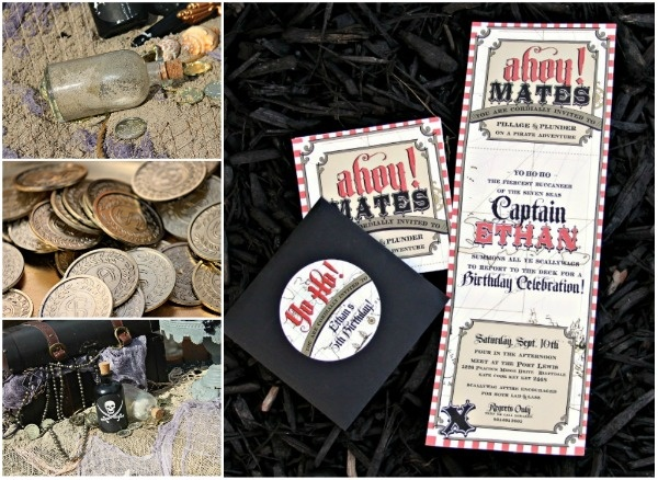 Pirate invites..these are absolutely amazing!!