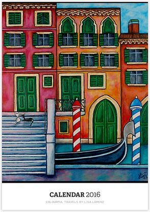 Colourful Travels by Lisa Lorenz by LisaLorenz