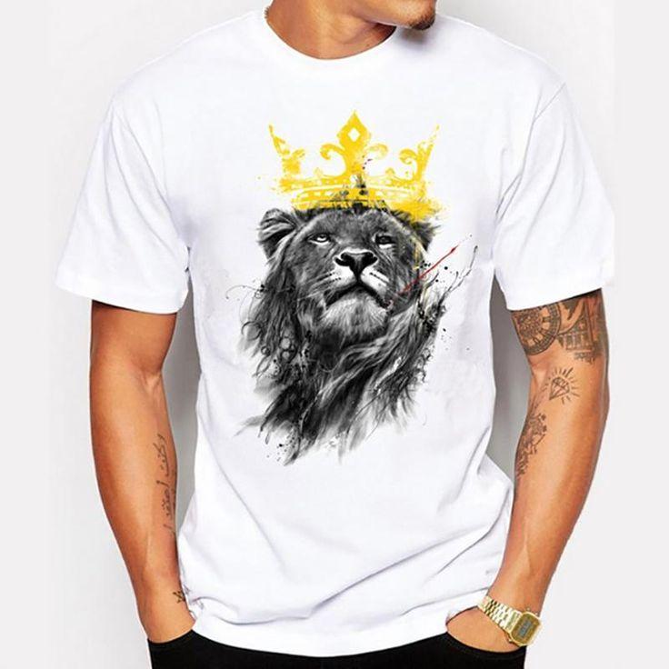 Men's lastest Short Sleeve King T-Shirt