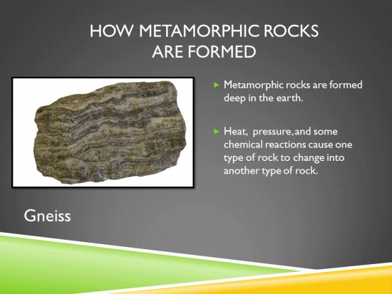 How Metamorphic Rocks are Formed