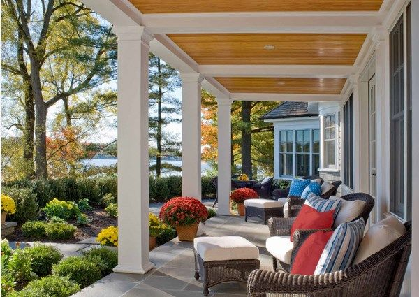 what is a veranda covered porch patio deck
