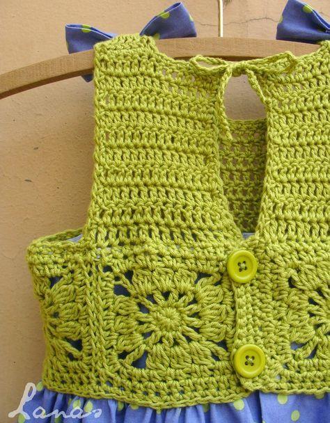 Lanas de Ana: Polka-Dot Dress