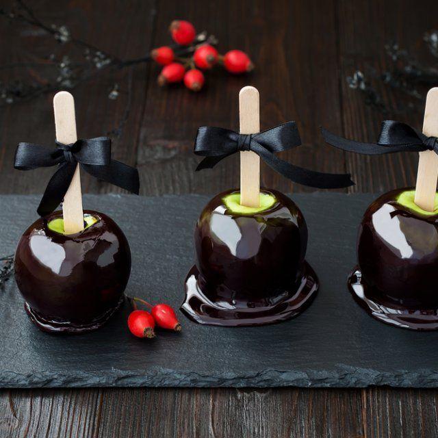 Cómo hacer Manzanas Envenenadas para Halloween