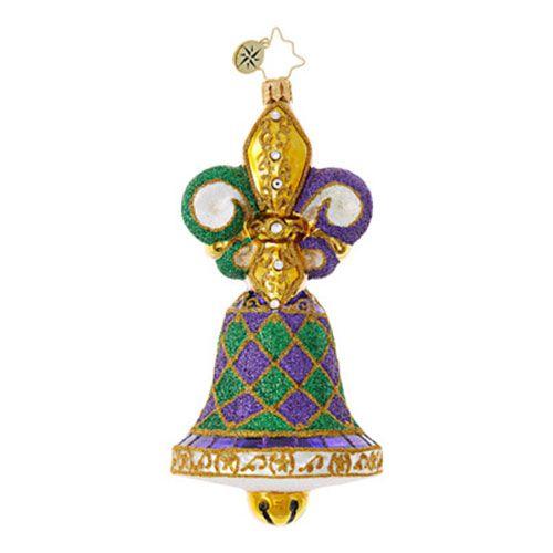 Christopher Radko Ornaments   Radko Destinations Bell of the Ball 1018950