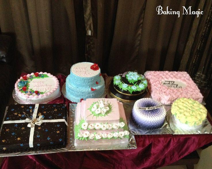 Cake table <3 #corporatecakes #desserttable