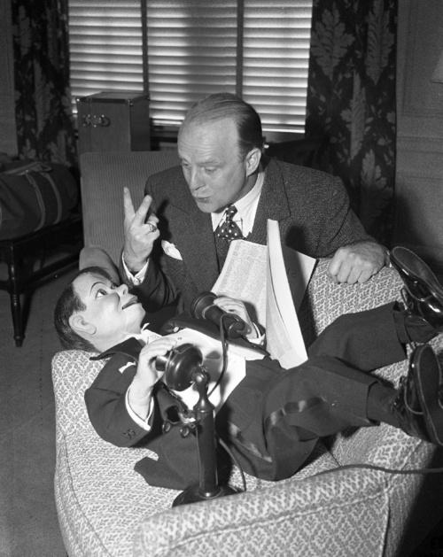 Edgar Bergen & Charlie McCarthy,1942