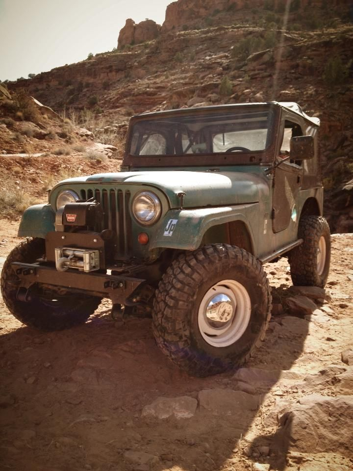 CJ-5 - 4Wheel & Off Road project jeep #Miranda'sDreamCar