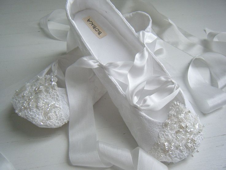 Bridal Ballet Flats White Fairytale Shoes Wedding Women S Bobka By Bobkababy