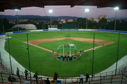 # 9 - Cerreti Baseball Stadium Florence, Italy Fiorentina Baseball Club