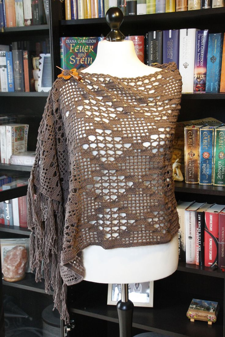 Witchcraft Wrap Or Shawl By Silvia Bangert - Free Crochet Pattern - (ravelry)