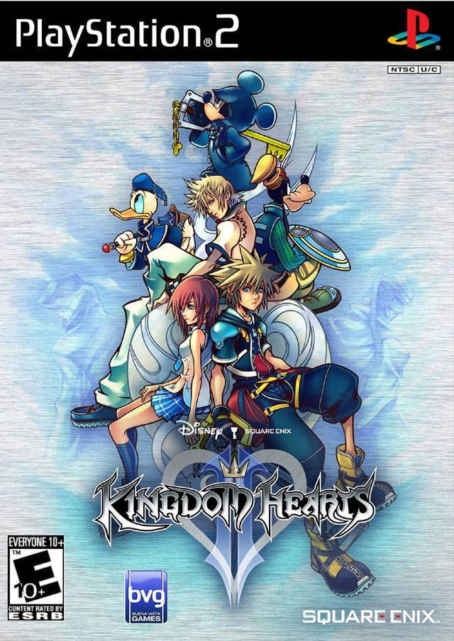 Kingdom Hearts 2 Sony Playstation 2 Game