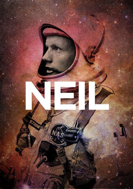 Neil. by David Delahunty      Artist:Flickr/Tumblr