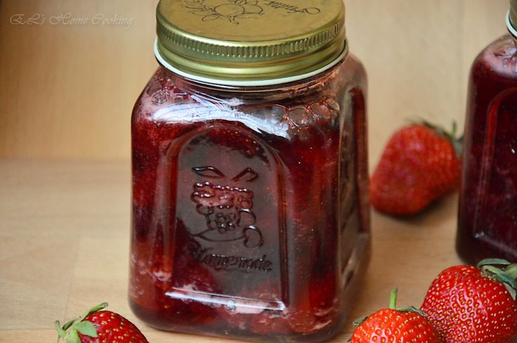 EL's Home Cooking: Сладко от ягоди