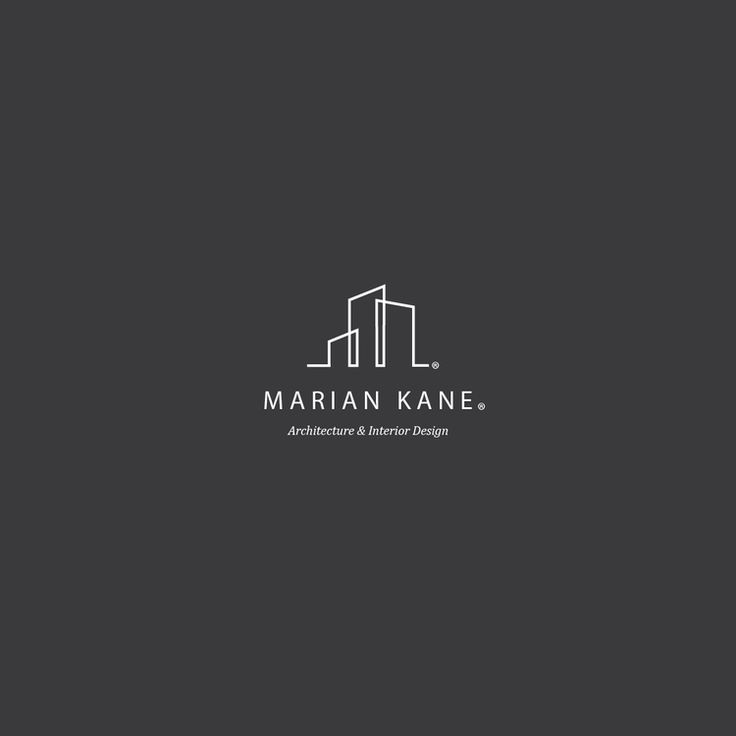 Marian Kane Architecture Interior Logo Created By Brian Champ