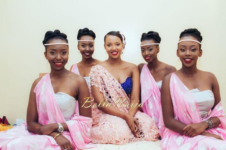 Burundian wedding in Kigali, Rwanda  Winnie and her bridemaids