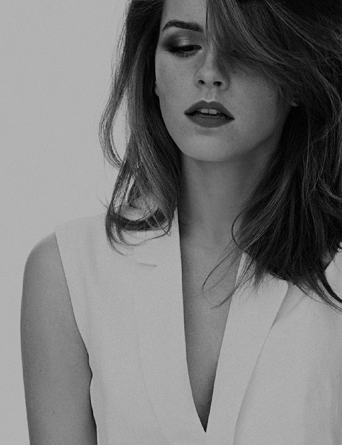 "Emma Watson - ""Beauty is not long hair, skinny legs, tanned skin or perfect teeth. Beauty is what we feel in the inside which also shows outside us. Beauty is the marks the life leaves on us, all the kicks and the caresses the memories leave us. Beauty is letting yourself live."""