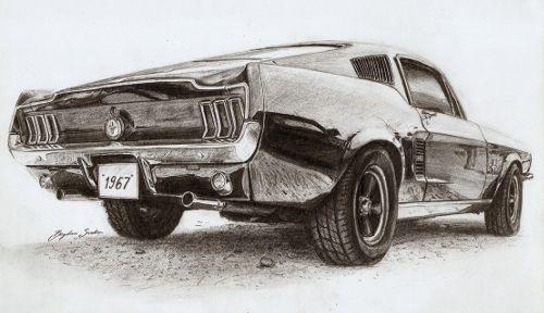 Hyperrealistic Car Drawings In Pencil Google Search Drawings