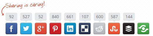 Boost social sharing and engagement with lightening fast buttons #socialmedia