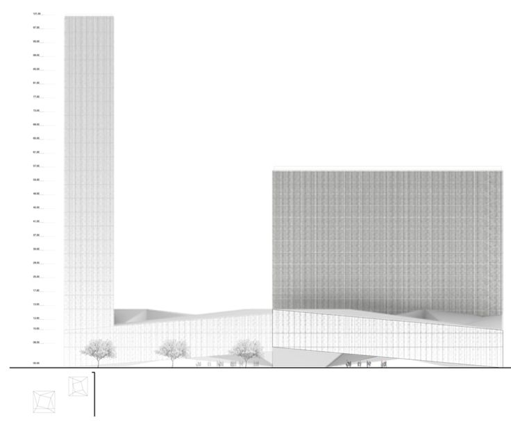 Intercontinental Hotel & Business Center Competition Proposal / Luis Banazol (20)