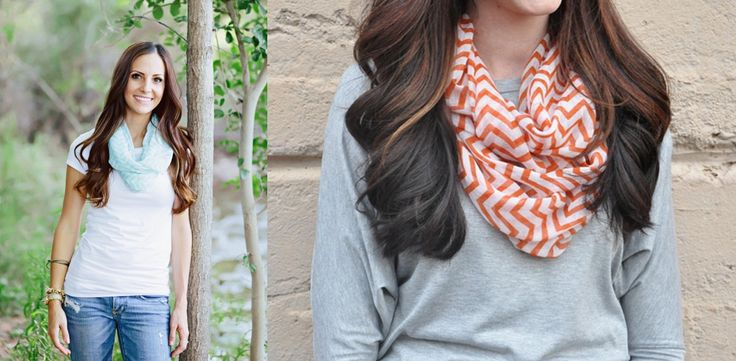 $4.99 So many FUN Colors to choose from in our Women's Chevron Scarves! These are beautiful scarves that add the perfect touch to any outfit! You ...