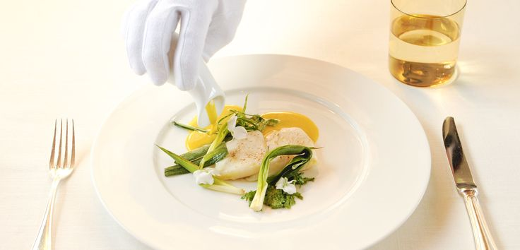 Cuisine Gourmet à l'hôtel Engel SPA & Resort (Tyrol du Sud, Italie)