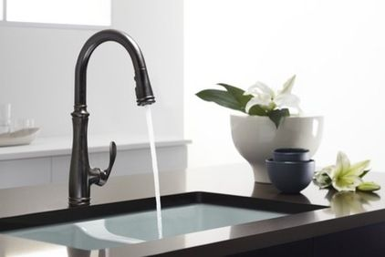 Most faucets use cartridge, ball or ceramic disk valves. A faucet with a ceramic disk valve and stainless steel or solid brass base material...
