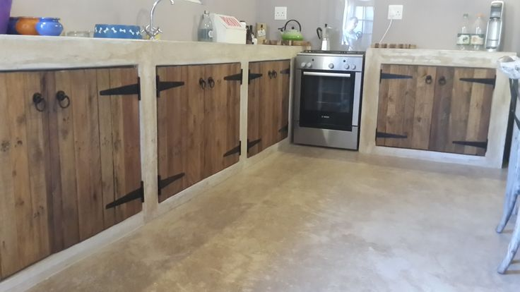 Pallet door Kitchen