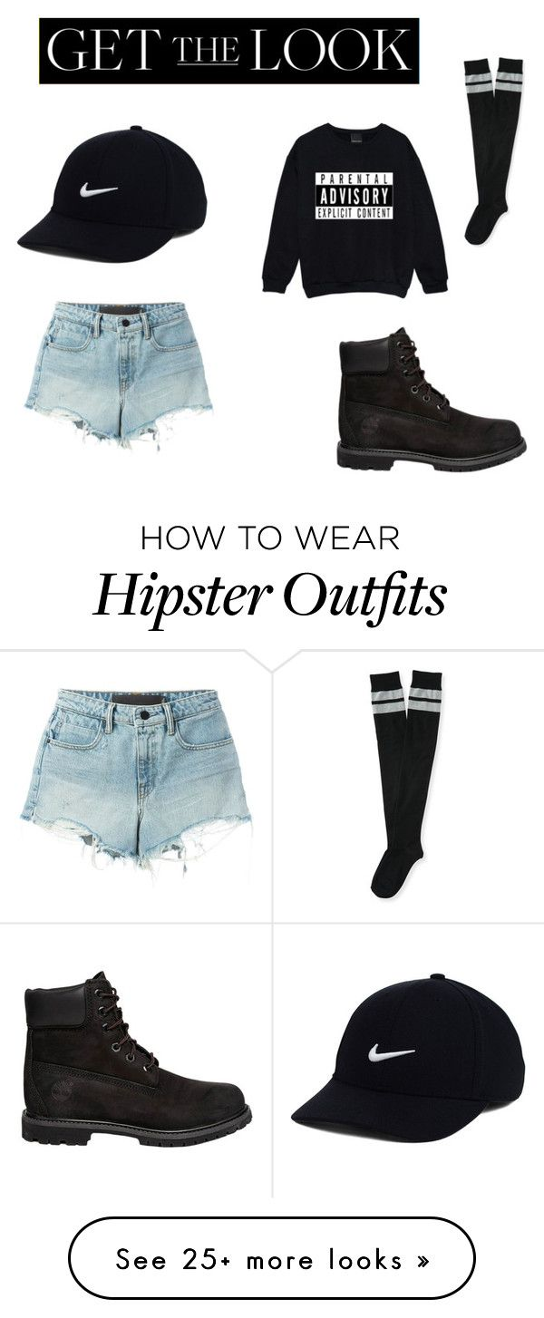 """The Orignal Teen Thing!^^"" by iiqueenslaysii on Polyvore featuring NIKE, T By Alexander Wang, Timberland, Aéropostale, GetTheLook, hats and tryit"