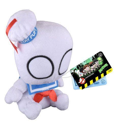 #transformer ko mopeez ghostbusters: stay puft marshmallow man [plush] by funko