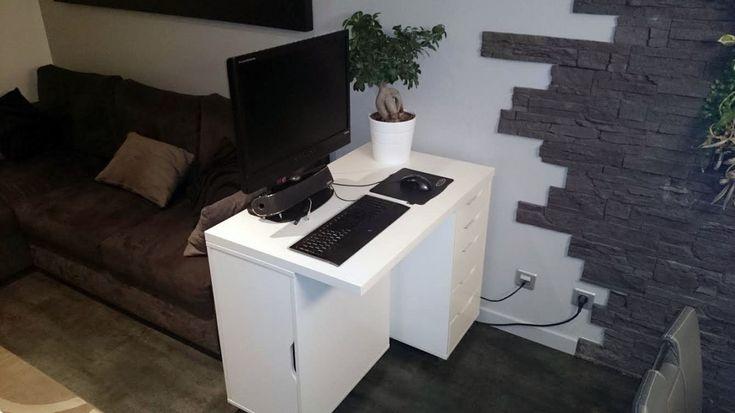 Mini+bureau+Ikea+ALEX+/+LINMON
