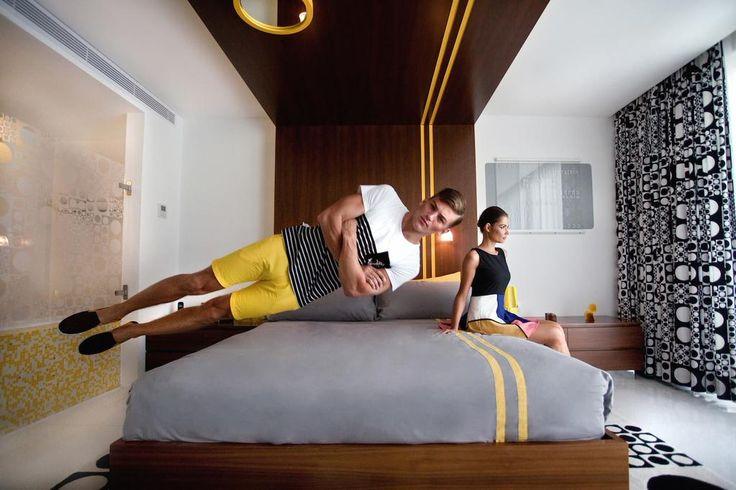@SebastianSauve defying gravity #photoshoot #fashion by http://www.thefranksland.com @Luna2life - luna2 studiotel http://tinyurl.com/l867e9d